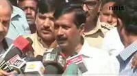 News video: KEJRIWALS CONVOY STOPPE