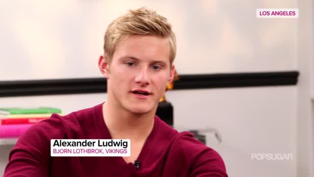News video: Alexander Ludwig on Vikings'