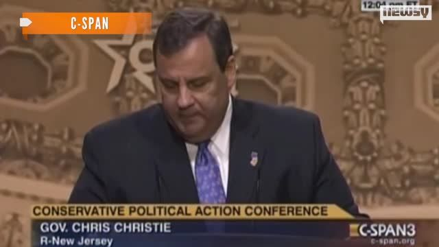 News video: Christie Draws Surprising Ovation After CPAC Speech