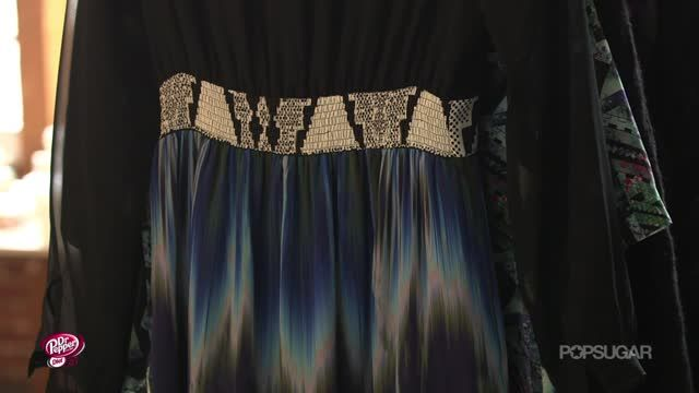 News video: How Gorgeous Is This One-of-a-Kind Dress From Cynthia Vincent?