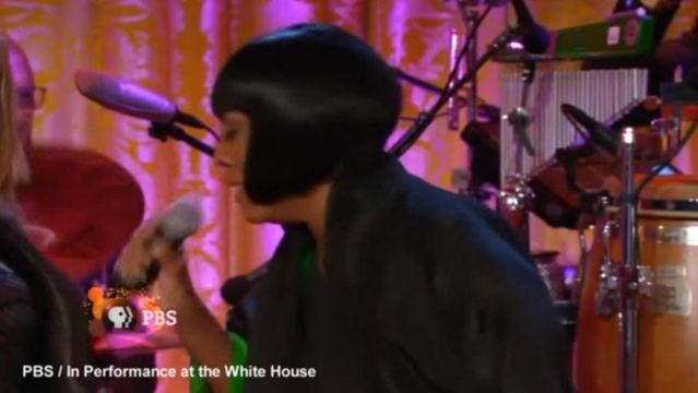 News video: Franklin rocks White House, Bono makes plea for European unity