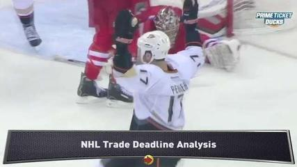 News video: Flurry of Moves at NHL Trade Deadline