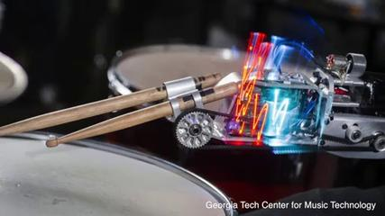News video: Robotic Prosthesis Gives Drummer an Unexpected Bonus