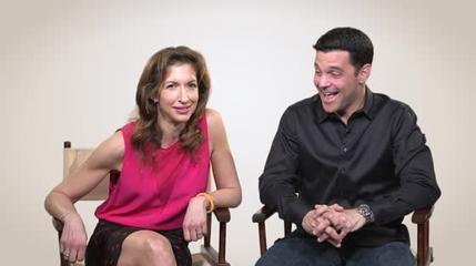 News video: David Alan Basche From TV Land's The Exes And His Wife Alysia Reiner From 'Orange Is The New...