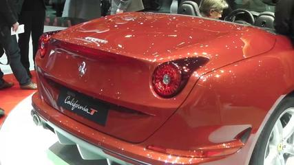 News video: Ferrari California T at Geneva Motor Show 2014
