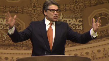 News video: Gov. Rick Perry Fires Up CPAC Crowd